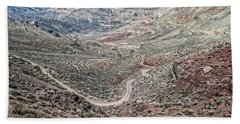 Red Pass - Titus Canyon Beach Towel