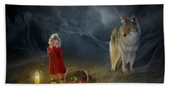 Red Riding Hood V2 Beach Towel