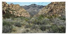 Beach Towel featuring the photograph Red Rock Canyon - Nevada by Glenn McCarthy Art and Photography