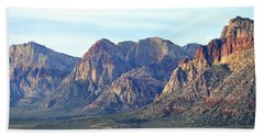 Beach Towel featuring the photograph Red Rock Canyon - Scale by Glenn McCarthy Art and Photography