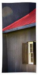 Red Roof Beach Towel