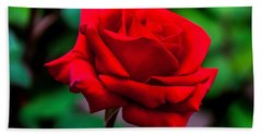 Red Rose 2 Beach Towel