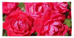 Red Roses 1 Beach Towel