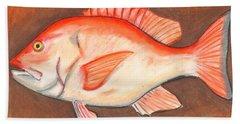 Red Snapper Beach Sheet
