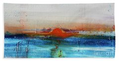 Red Sunset Beach Sheet