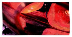 Red Tomatoe Two Beach Towel