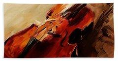 Red Violin  Beach Sheet