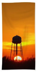 Redneck Water Heater For Whole Town Beach Towel by J R Seymour