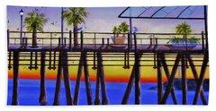 Redondo Beach Pier Beach Sheet