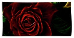 Red's Passion Beach Towel