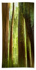 Redwood Dream Beach Towel