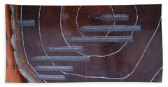 Redwood History Beach Sheet