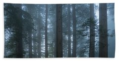 Redwood Mist Beach Towel