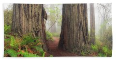 Redwood Trail Beach Towel