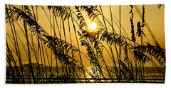Reedy Sunrise Beach Towel