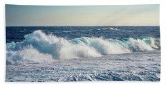 Reef Break On The Morning Light Beach Sheet