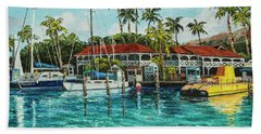 Beach Towel featuring the painting Reef Dancer  by Darice Machel McGuire