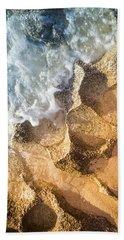 Reefy Textures Beach Towel