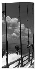 Reel Clouds Beach Towel