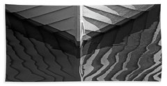 Reflected Bow - 365-344 Beach Towel by Inge Riis McDonald