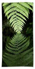 Reflected Ferns Beach Sheet