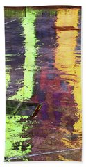 Reflecting Abstract Beach Towel