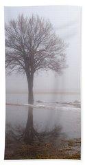 Reflecting Tree Beach Sheet