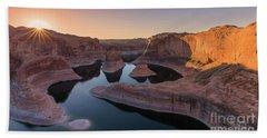 Reflection Canyon, Lake Powell, Utah Beach Towel