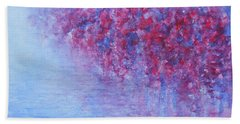 Beach Towel featuring the painting Reflection Of Fairy Tale by Jane See