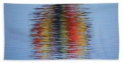 Reflection Beach Towel by Steve Stuller