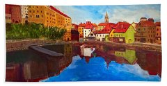 Czech Reflections Beach Towel