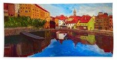 Czech Reflections Beach Towel
