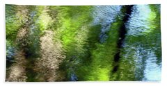 Reflections Beach Towel by Betsy Zimmerli