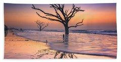Reflections Erased - Botany Bay Beach Towel