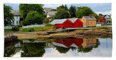 Reflections In Rorvik Beach Sheet