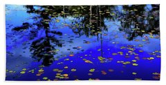 Reflections  Beach Towel by Lyle Crump