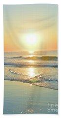 Reflections Meditation Art Beach Sheet