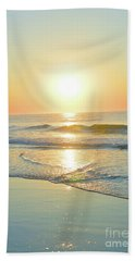 Reflections Meditation Art Beach Sheet