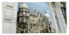 Reflections Of Architecture  Beach Towel