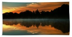 Reflections Of Beauty Beach Towel by Rob Blair
