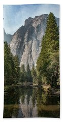 Reflections Of El Capitan Beach Towel