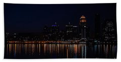 Reflections Of Louisville Beach Towel