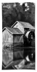 Reflections Of Mabry Mill Beach Towel