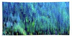 Reflections Of Monet 8155 H_12 Beach Sheet
