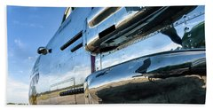 Reflections Of Panchito - 2017 Christopher Buff, Www.aviationbuff.com Beach Towel