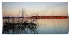 Reflections On Lake Jackson Tallahassee Beach Towel