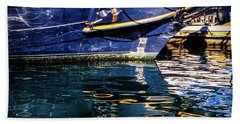 Beach Towel featuring the photograph Reflections by Samuel M Purvis III