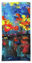 Reflections Series - Fall Beach Towel