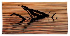 Reflective Abstract Beach Sheet