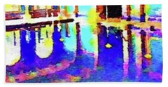 Reflective Pool Hearst Castle Beach Towel